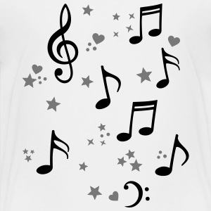 happy music melody  Shirts - Teenage Premium T-Shirt