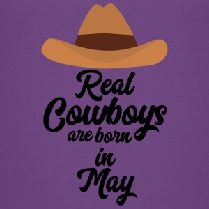 Real Cowboys are bon in May S11vb Shirts - Kids' Premium T-Shirt