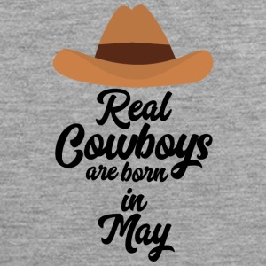 Real Cowboys are bon in May S11vb Sports wear - Men's Premium Tank Top
