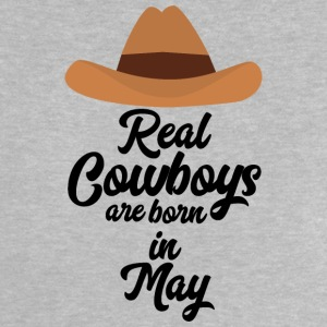 Real Cowboys are bon in May S11vb Baby Shirts  - Baby T-Shirt
