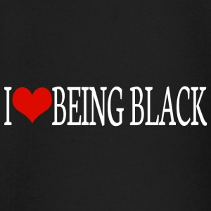 I love being black Baby Long Sleeve Shirts - Baby Long Sleeve T-Shirt
