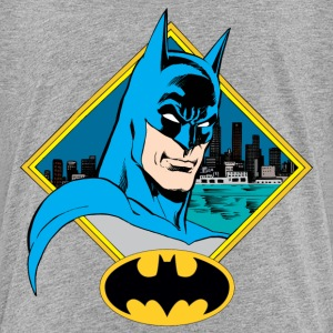 DC Comics Originals Batman Portrait Et Logo - T-shirt Premium Ado