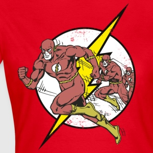 DC Comics Originals The Flash Running - Dame-T-shirt