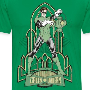 DC Comics Originals Green Lantern - Premium T-skjorte for menn