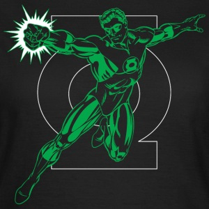 DC Comics Originals Green Lantern Logo - Dame-T-shirt