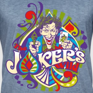 DC Comics Originals Batman Villains The Joker - Herre vintage T-shirt