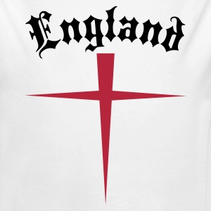 OLD  ENGLAND SAINT GEORGES CROSS Baby Bodysuits - Longlseeve Baby Bodysuit