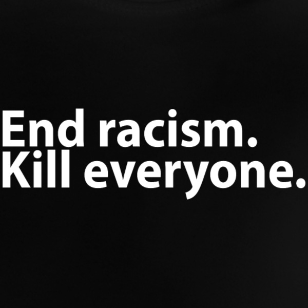 Ende racisme Baby T-shirts - Baby T-shirt