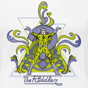 DC Comics Originals Villains The Riddler - Premium T-skjorte for kvinner