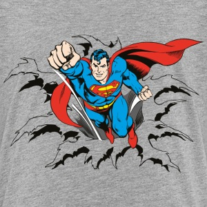 DC Comics Originals Superman Casse Mur Rétro - T-shirt Premium Enfant