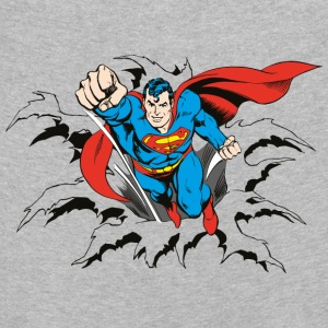 DC Comics Originals Superman Casse Mur Rétro - T-shirt manches longues Premium Enfant