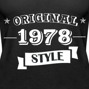 Originale stile 1978 Top - Canotta premium da donna