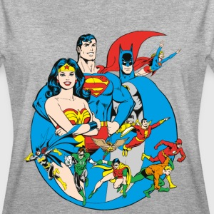 DC Comics Originals  Members - Vrouwen oversize T-shirt