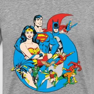 DC Comics Originals  Members - Mannen Premium T-shirt