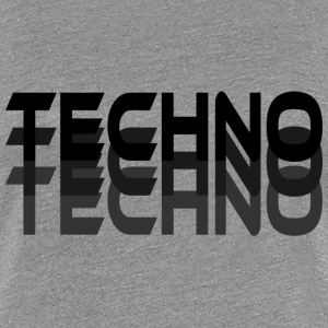 Techno  T-Shirts - Frauen Premium T-Shirt