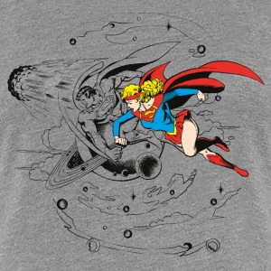 DC Comics Originals Supergirl And Superman - Premium T-skjorte for kvinner