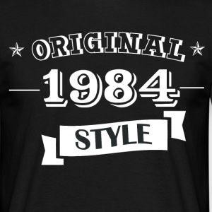 Original 1984 style T-Shirts - Men's T-Shirt