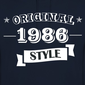 Original pull style 1986 & hoodies - Sweat-shirt à capuche unisexe