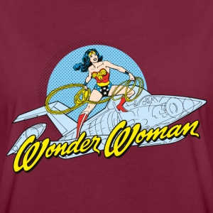 DC Comics Originals Wonder Woman Auf Jet - Frauen Oversize T-Shirt