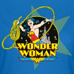DC Comics Originals Wonder Woman Attacks - Dame-T-shirt