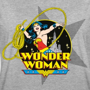 DC Comics Originals Wonder Woman Attacks - Vrouwen oversize T-shirt