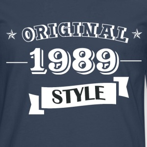 Original 1989 style long sleeve shirts - Men's Premium Longsleeve Shirt