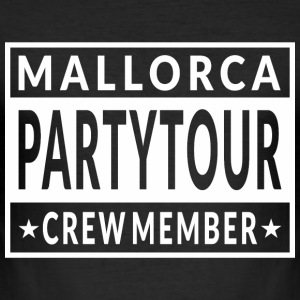 Mallorca Partytour T-Shirts - Männer Slim Fit T-Shirt