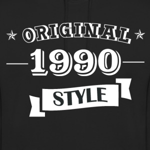 Original pull style 1990 & hoodies - Sweat-shirt à capuche unisexe