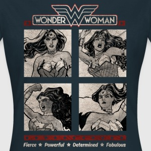 DC Comics Originals Wonder Woman Portraits - T-shirt Femme