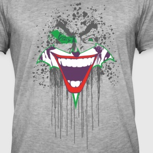 DC Comics Originals Joker Batman Batsignal - Herre vintage T-shirt