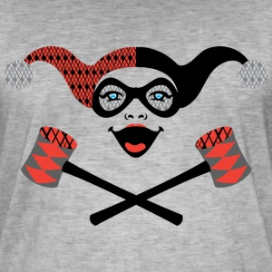 DC Comics Originals Villains Harley Quinn - Vintage-T-skjorte for menn