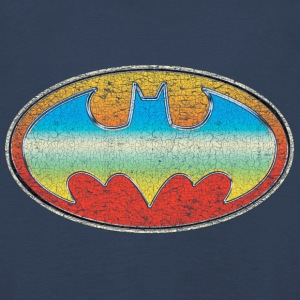 DC Comics Originals Batman Retro Logo Bunt - Kinder Premium Langarmshirt
