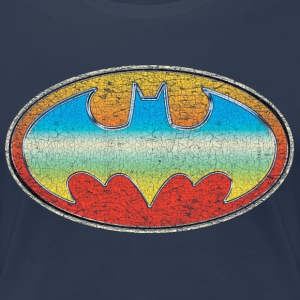 DC Comics Originals Batman Retro Logo Bunt - Frauen Premium T-Shirt