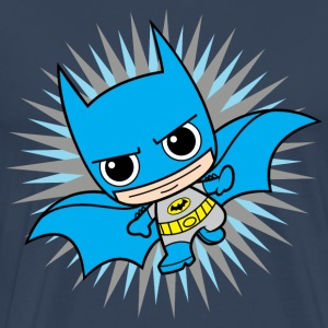 DC Comics Originals Batman Bruce Wayne Chibi - Premium T-skjorte for menn