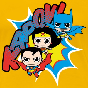 DC Comics Originals  Chibis - Premium T-skjorte for kvinner