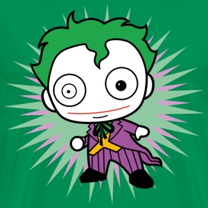 DC Comics Originals Villain The Joker Chibi - Premium T-skjorte for menn