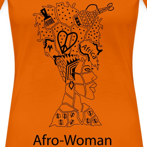 Afro - Woman