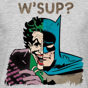 DC Comics Originals Batman Joker Retro W'Sup? - Männer T-Shirt