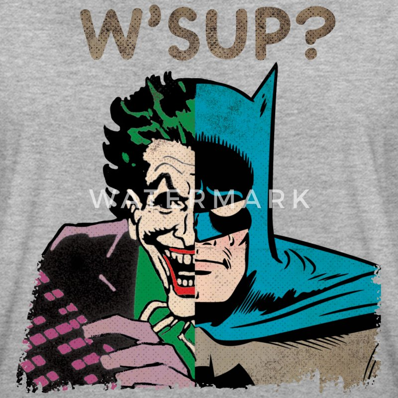 DC Comics Originals Batman Joker Retro W'Sup? - Frauen Oversize T-Shirt