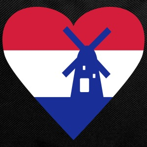 Netherlands Holland Heart Bags & Backpacks - Backpack