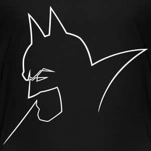 DC Comics Originals Batman Neon Outline - Premium T-skjorte for tenåringer