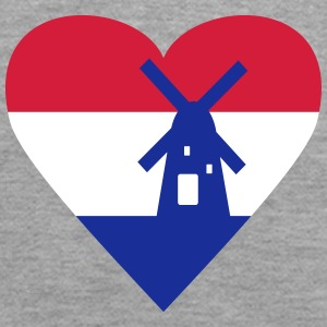 Netherlands Holland Heart Hoodies & Sweatshirts - Women's Premium Hoodie