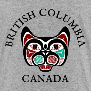 British Columbia Haida Kitty Shirts - Teenage Premium T-Shirt