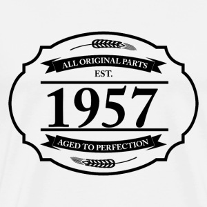 All original Parts 1957 T-Shirts - Männer Premium T-Shirt