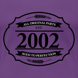 All original Parts 2002 T-Shirts - Frauen Premium T-Shirt