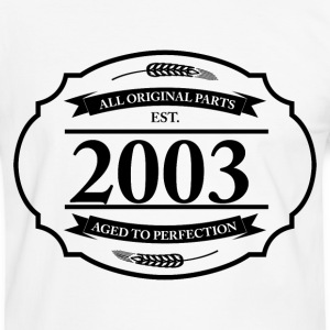 All original Parts 2003 T-Shirts - Männer Kontrast-T-Shirt