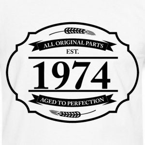 All original Parts 1974 T-Shirts - Männer Kontrast-T-Shirt