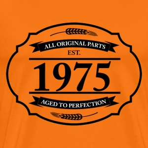All original Parts 1975 T-Shirts - Männer Premium T-Shirt
