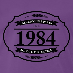 All original Parts 1984 T-Shirts - Männer Premium T-Shirt