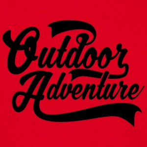Outdoor Adventure T-Shirts - Männer T-Shirt